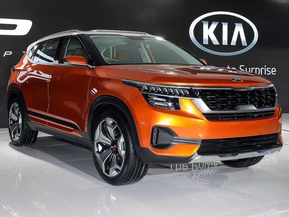 Kia SP Concept revelado no AutoExpo 2018, principal mostra automotiva da Índia