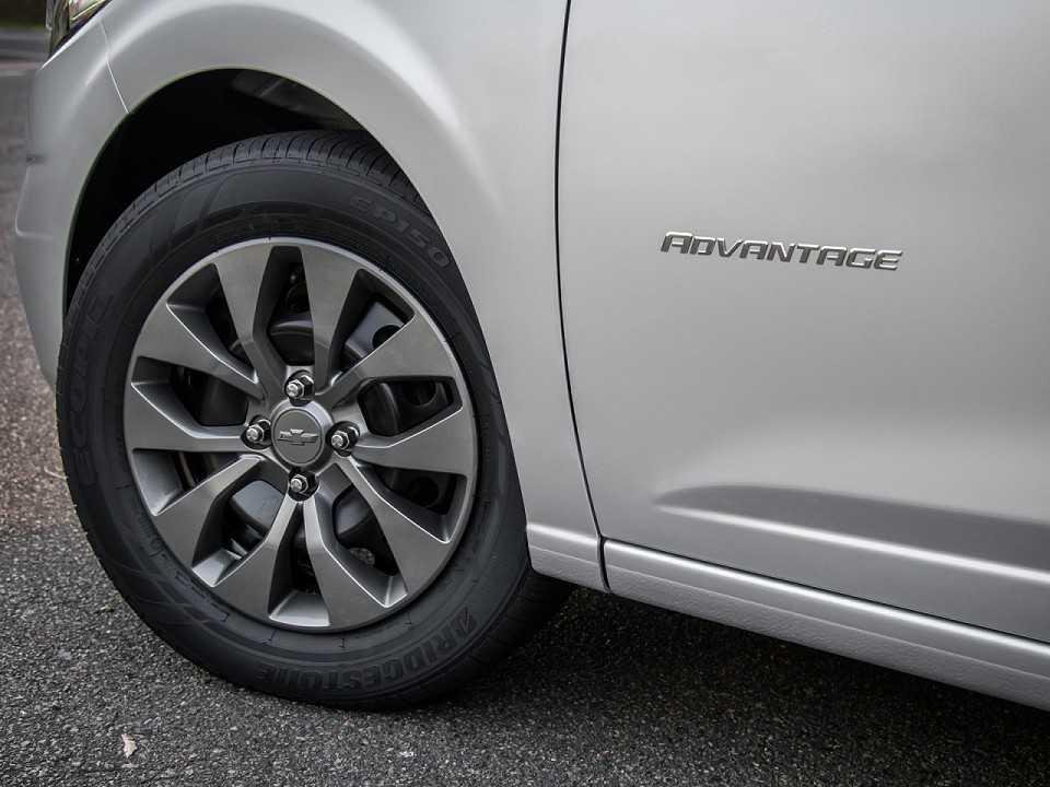 ChevroletOnix 2018 - rodas