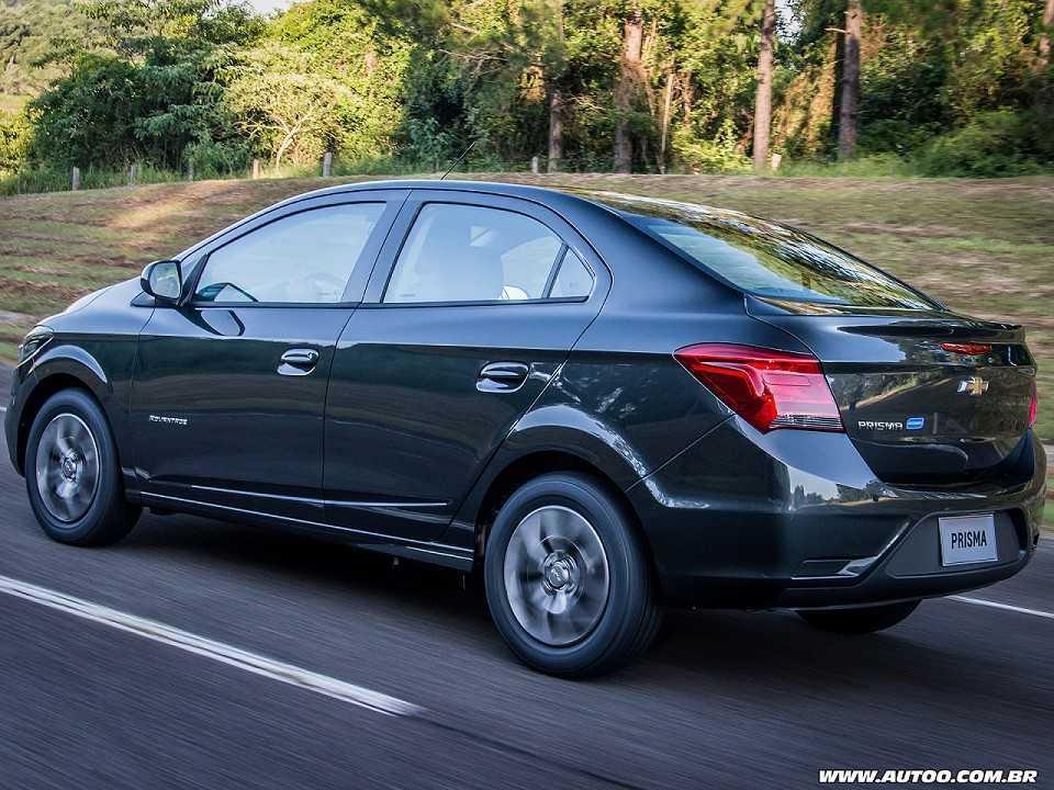 ChevroletPrisma 2018 - ângulo traseiro