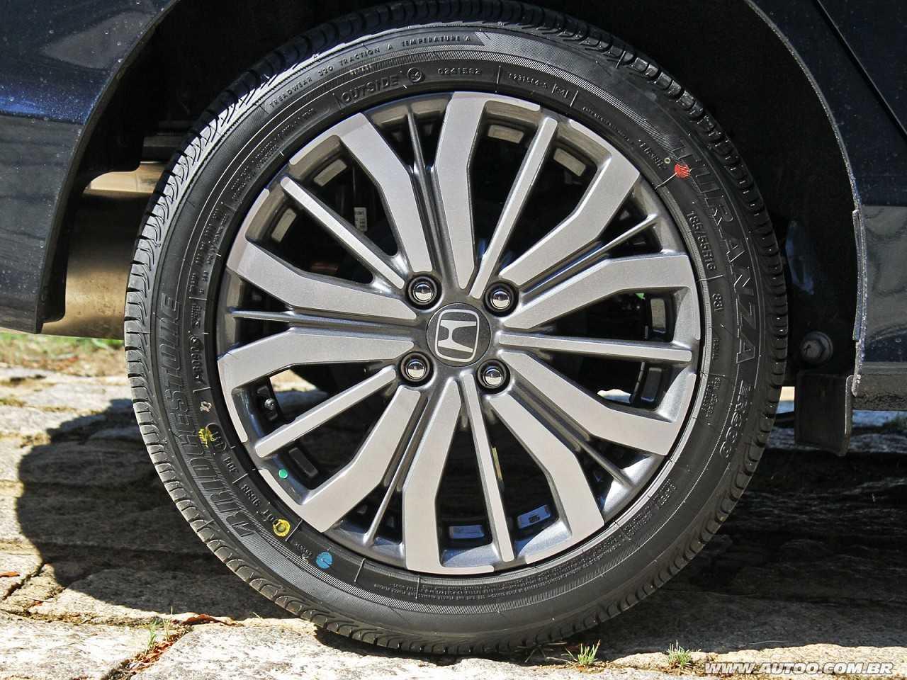 HondaCity 2018 - rodas