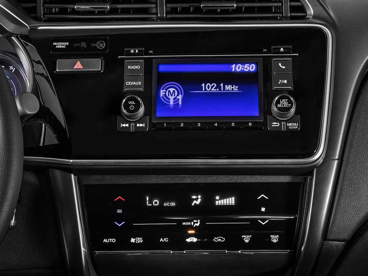 HondaCity 2018 - console central