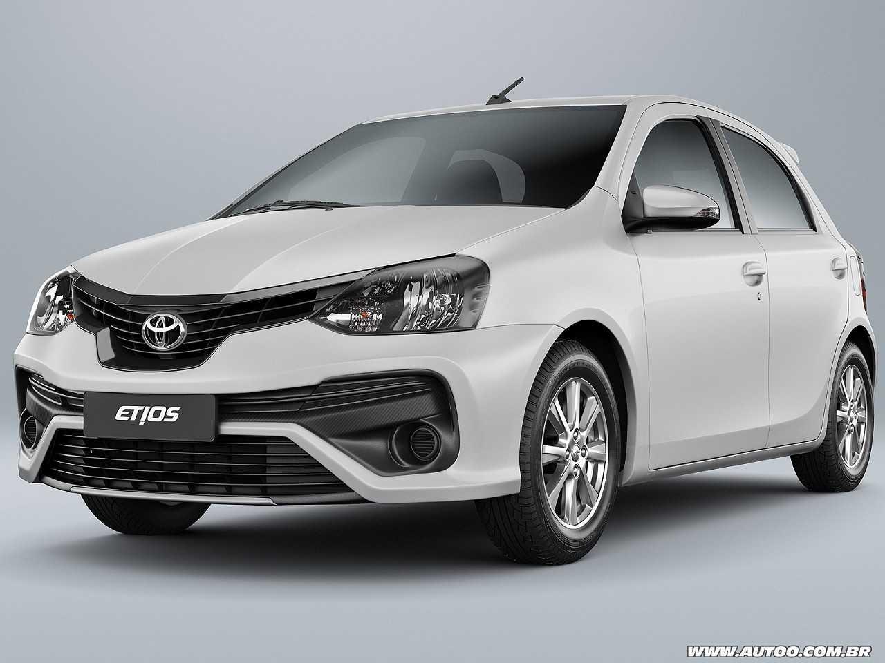 ToyotaEtios 2019 - ângulo frontal