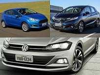 Montagem com VW Polo, Ford New Fiesta e Honda Fit