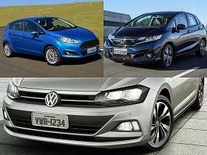 Escolhendo um carro compacto até R$ 70.000