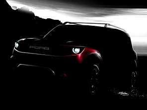 Novo Ford Bronco poderá ter câmbio manual de 7 marchas