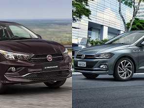VW Virtus e Fiat Cronos colocam os SUVs compactos em xeque