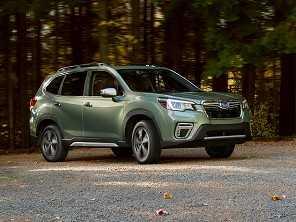 Subaru mostra quinta geração do Forester em Nova York