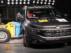 Toro ganha quatro estrelas no teste da Latin NCAP