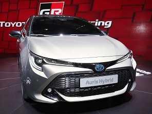 Toyota Auris antecipa o Corolla 2020