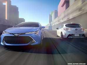 Nova geração do Toyota Corolla é revelada nos EUA