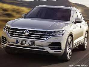 Volkswagen mostra novo Touareg na China