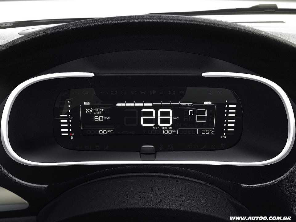 CitroënC4 Lounge 2019 - painel de instrumentos