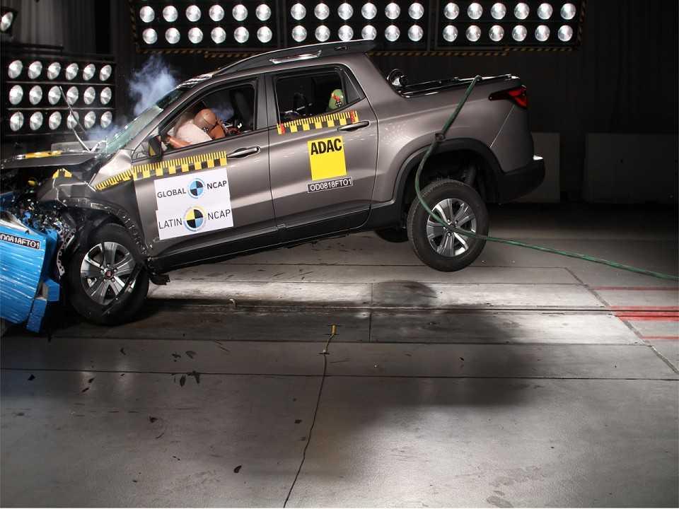 Crash-teste da Fiat Toro