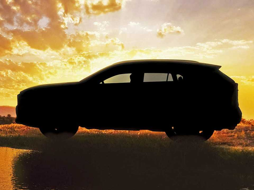 Teaser do novo Toyota RAV4 2019