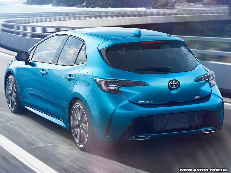 Nova Geracao Do Toyota Corolla E Revelada Nos Eua Autoo
