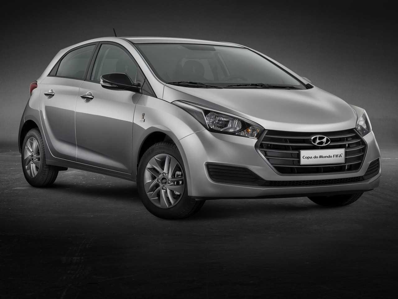 HyundaiHB20 2018 - ângulo frontal