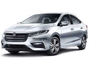 No exterior, próxima geração do Honda City fica para 2020