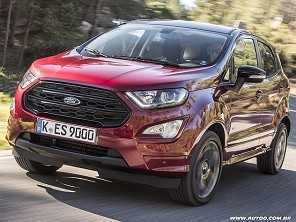 Na Índia, Ford EcoSport terá versão 1.0 turbo