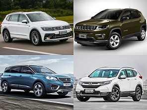 SUVs médios: o segmento com os melhores carros hoje no Brasil