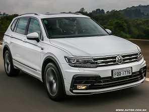 Teste: Volkswagen Tiguan Allspace R-Line 350 TSI