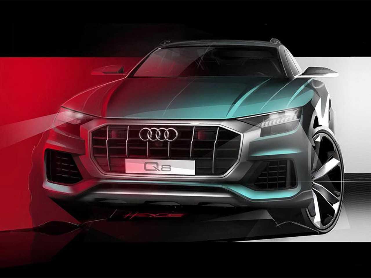 Teaser do novo Audi Q8