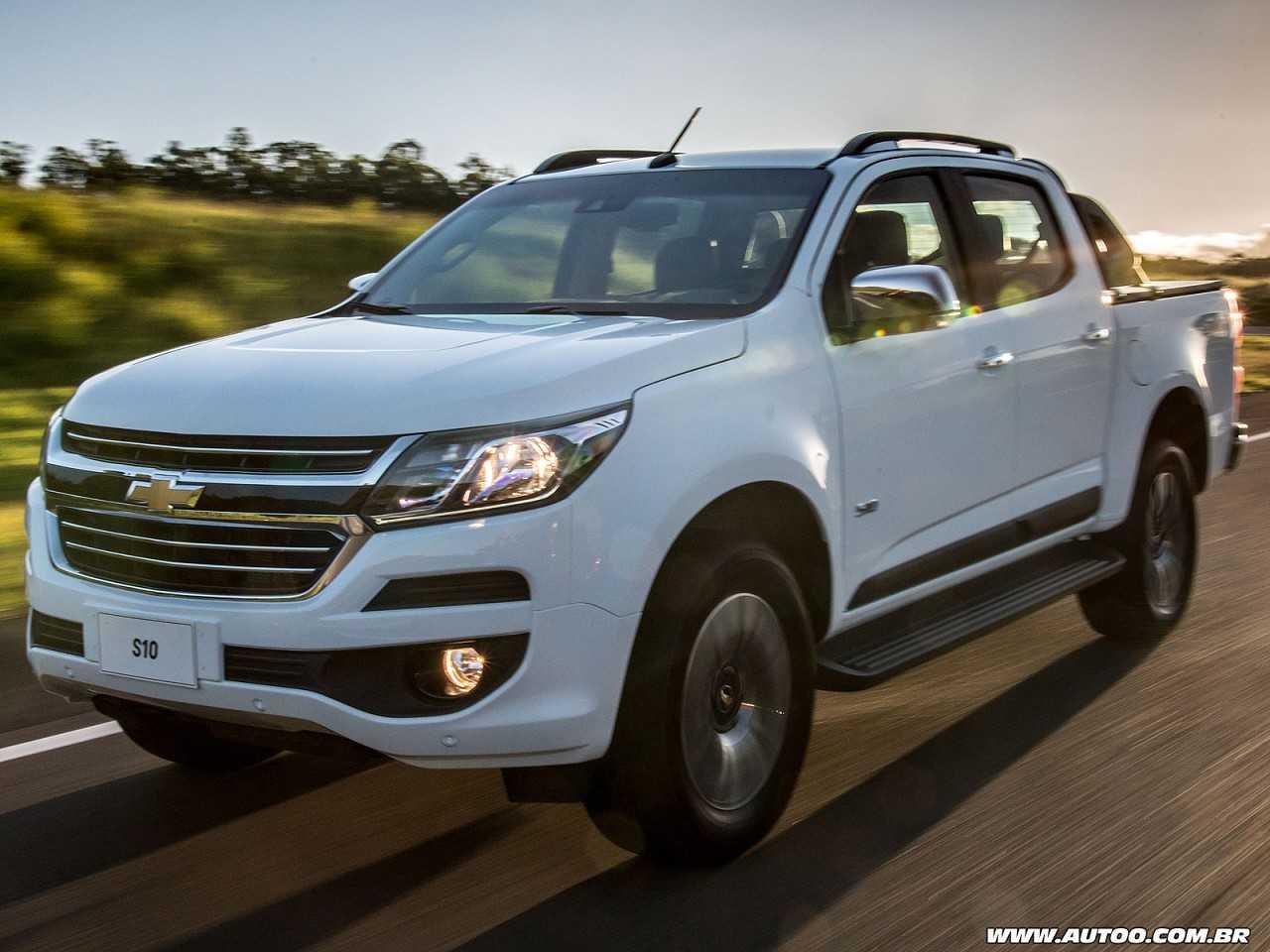 ChevroletS10 2019 - ângulo frontal