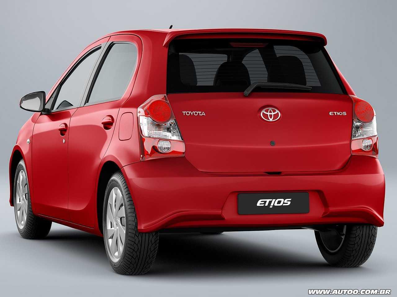 ToyotaEtios 2019 - ângulo traseiro