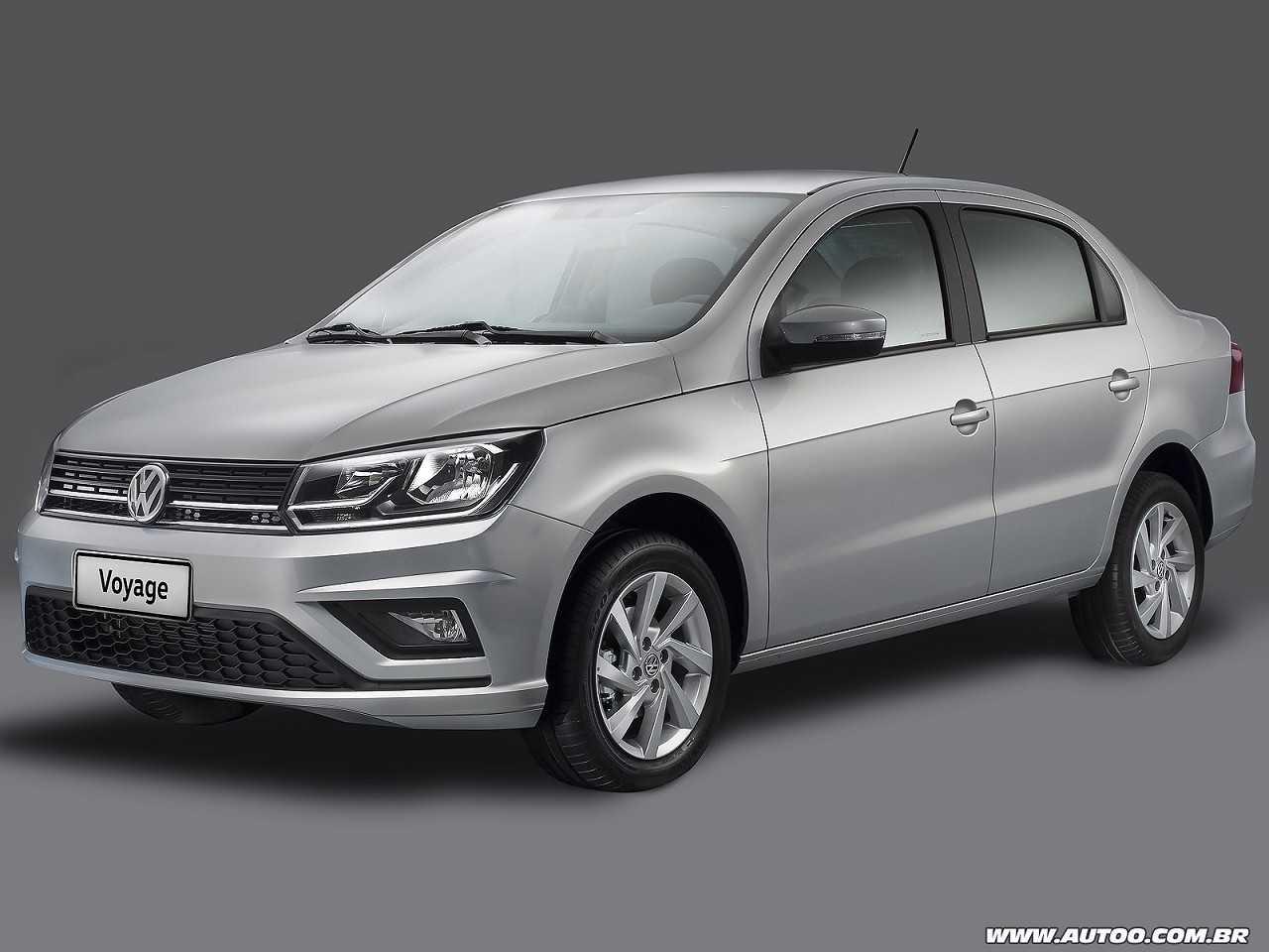 VolkswagenVoyage 2019 - ângulo frontal