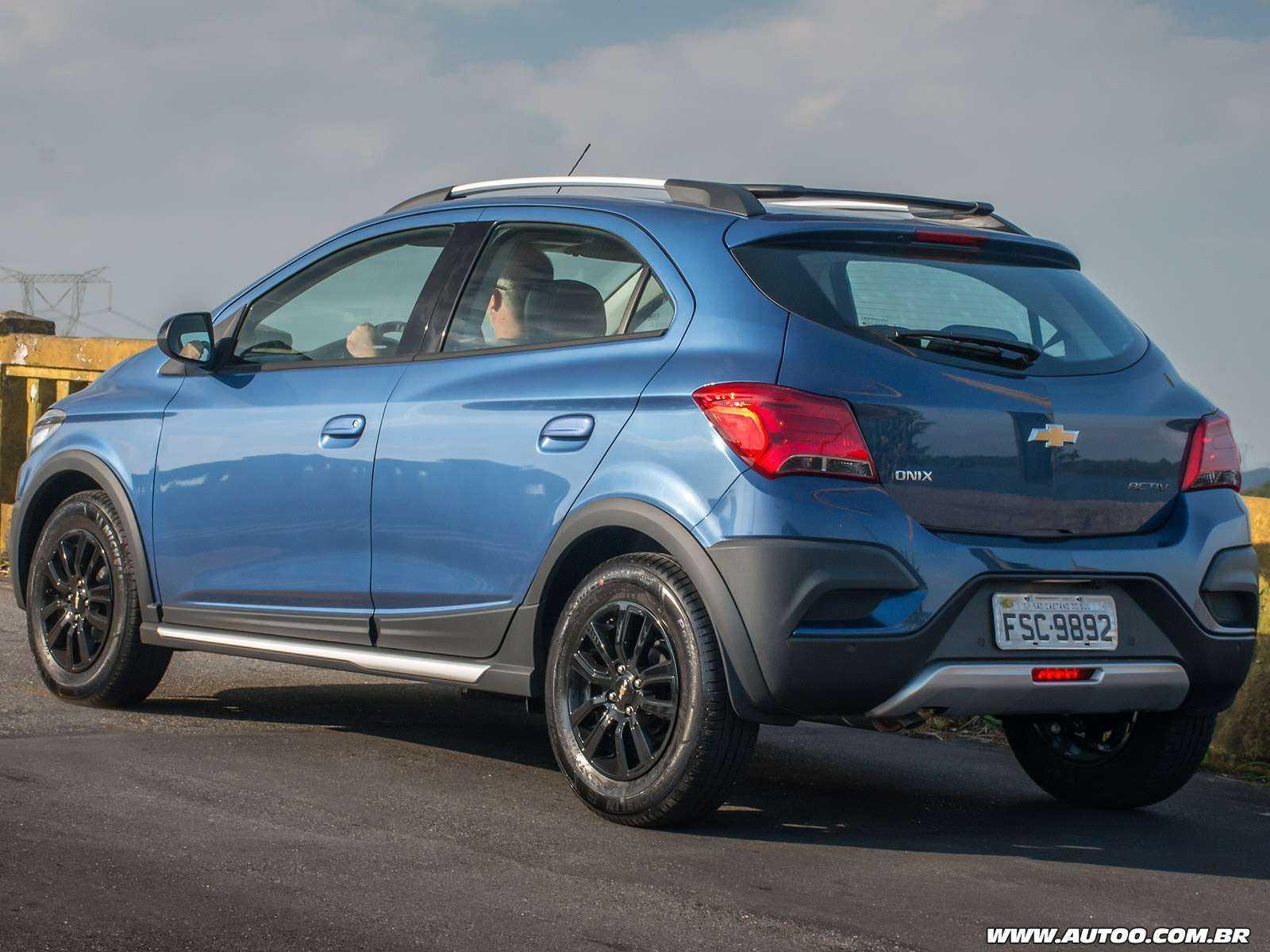 ChevroletOnix 2019 - ângulo traseiro