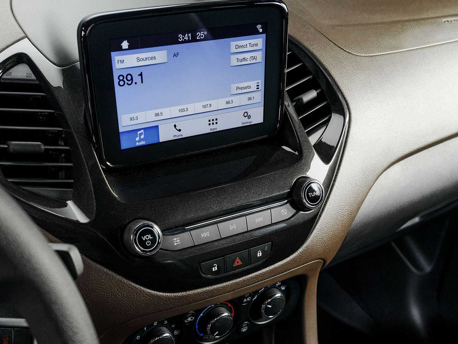 FordKa 2019 - console central