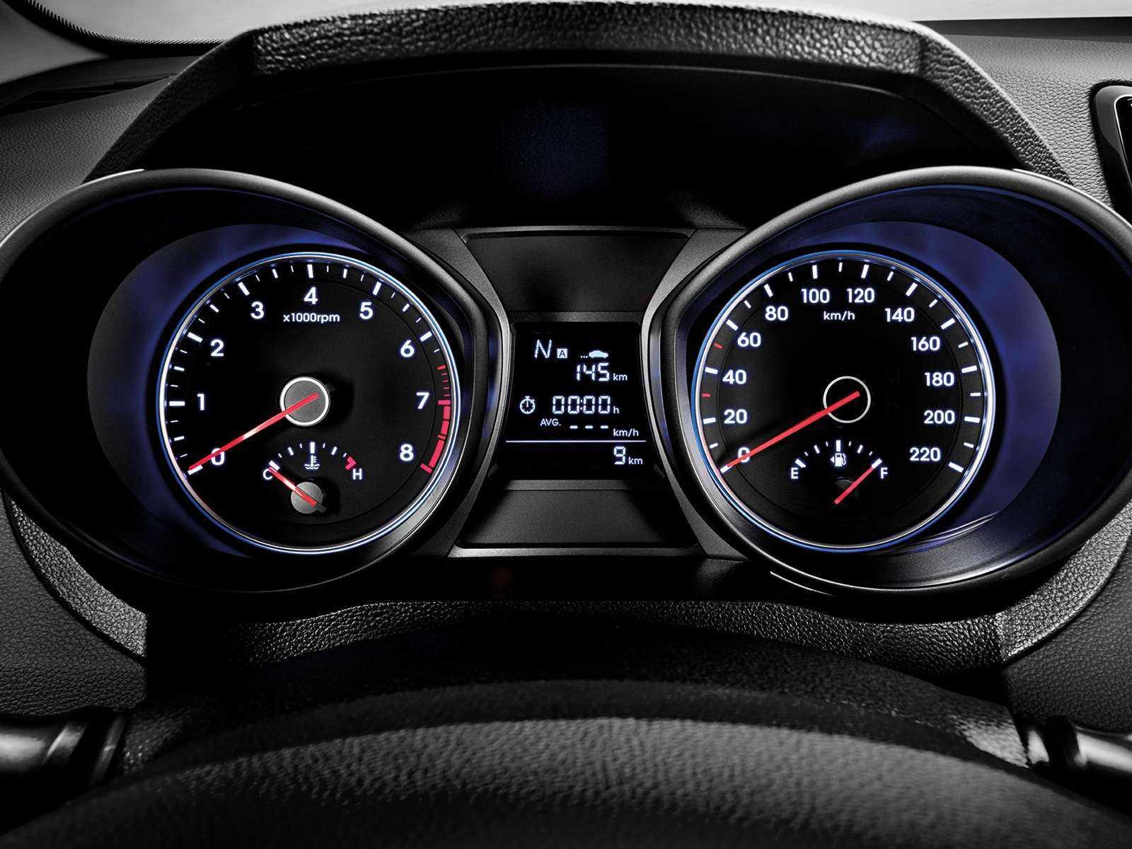 HyundaiHB20 2019 - painel de instrumentos