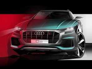 Audi Q8 estreia em junho mirando GLE Coupé e X6