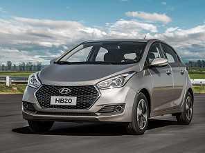 Hyundai HB20 ganha pequenas novidades na linha 2019