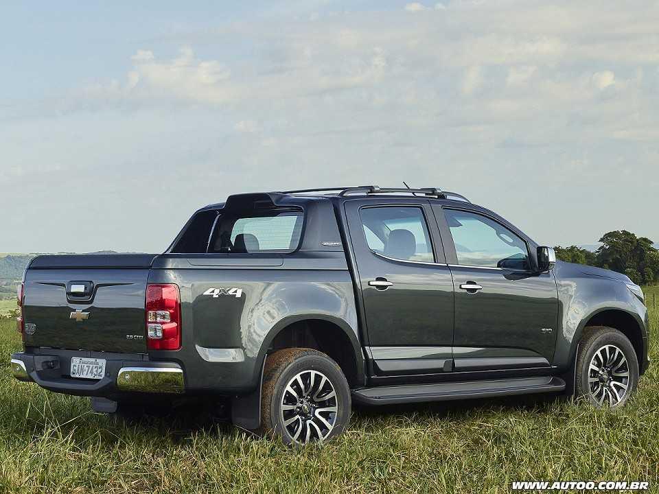 ChevroletS10 2019 - ângulo traseiro