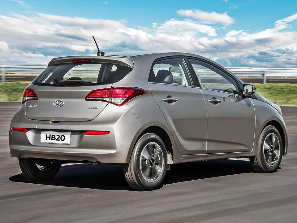 HyundaiHB20 2019 - ângulo traseiro