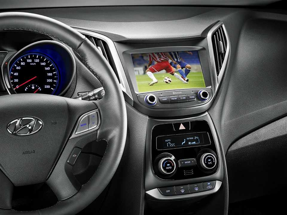 HyundaiHB20 2019 - console central