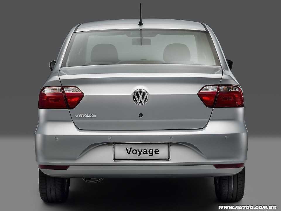 VolkswagenVoyage 2019 - traseira