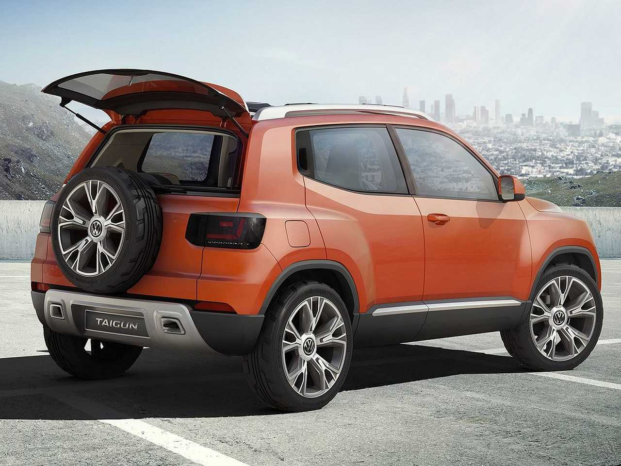 Acima o Taigun Concept de 2014, um exemplo do que podemos esperar do SUV subcompacto da VW
