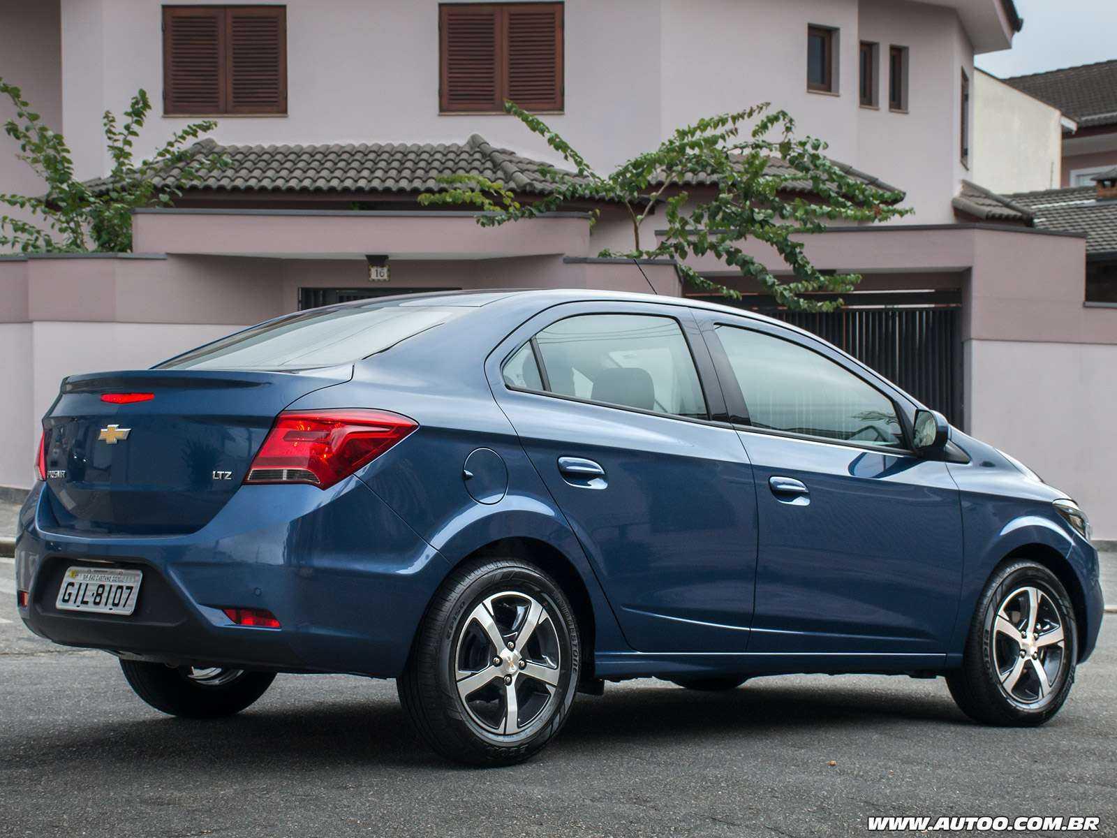 ChevroletPrisma 2019 - ângulo traseiro
