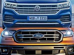 Volkswagen e Ford evocam o passado em nova parceria global