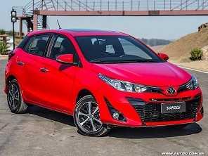 Depois da gama Etios, Toyota Yaris não é mais oferecido com motor 1.3