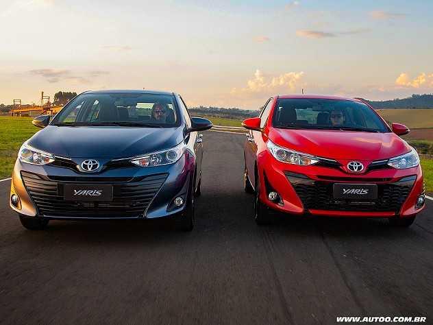 Facelift da gama Toyota Yaris nacional fica para 2022