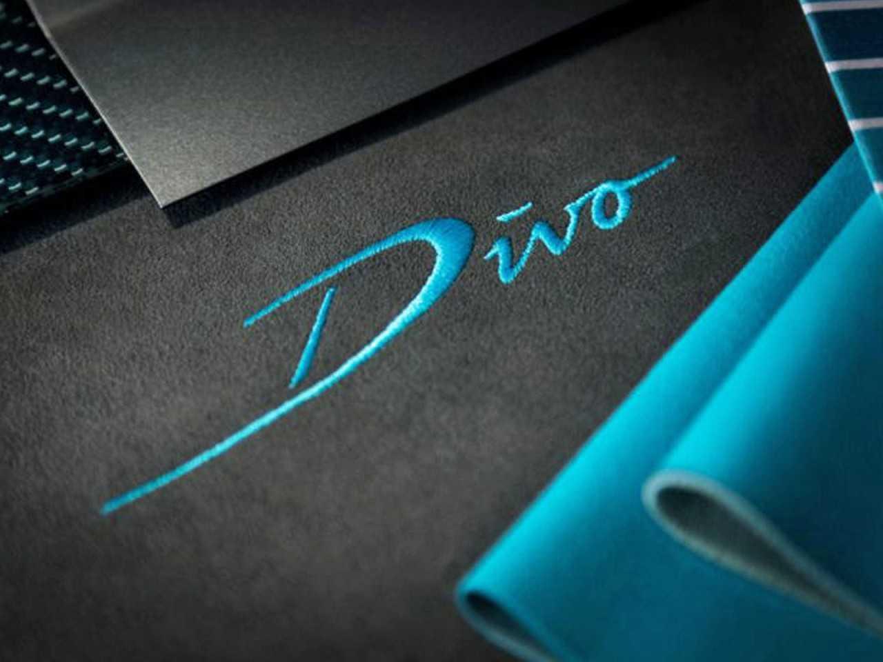 Acima o único detalhe revelado até o momento do inédito Bugatti Divo