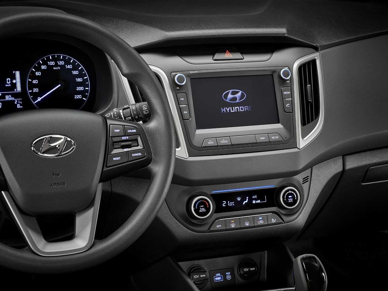 HyundaiCreta 2019 - console central