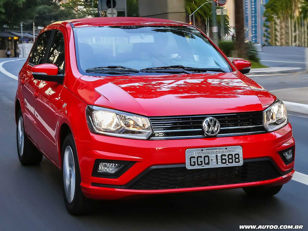 VolkswagenGol 2019 - ângulo frontal