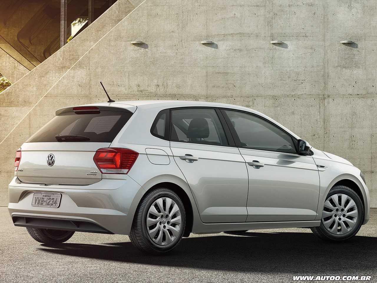VolkswagenPolo 2019 - ângulo traseiro