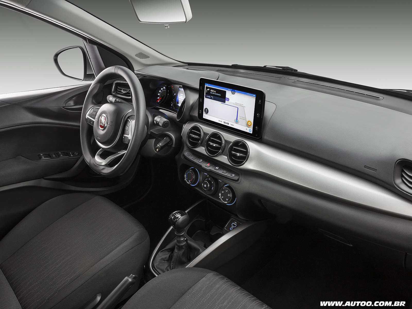 FiatArgo 2019 - painel