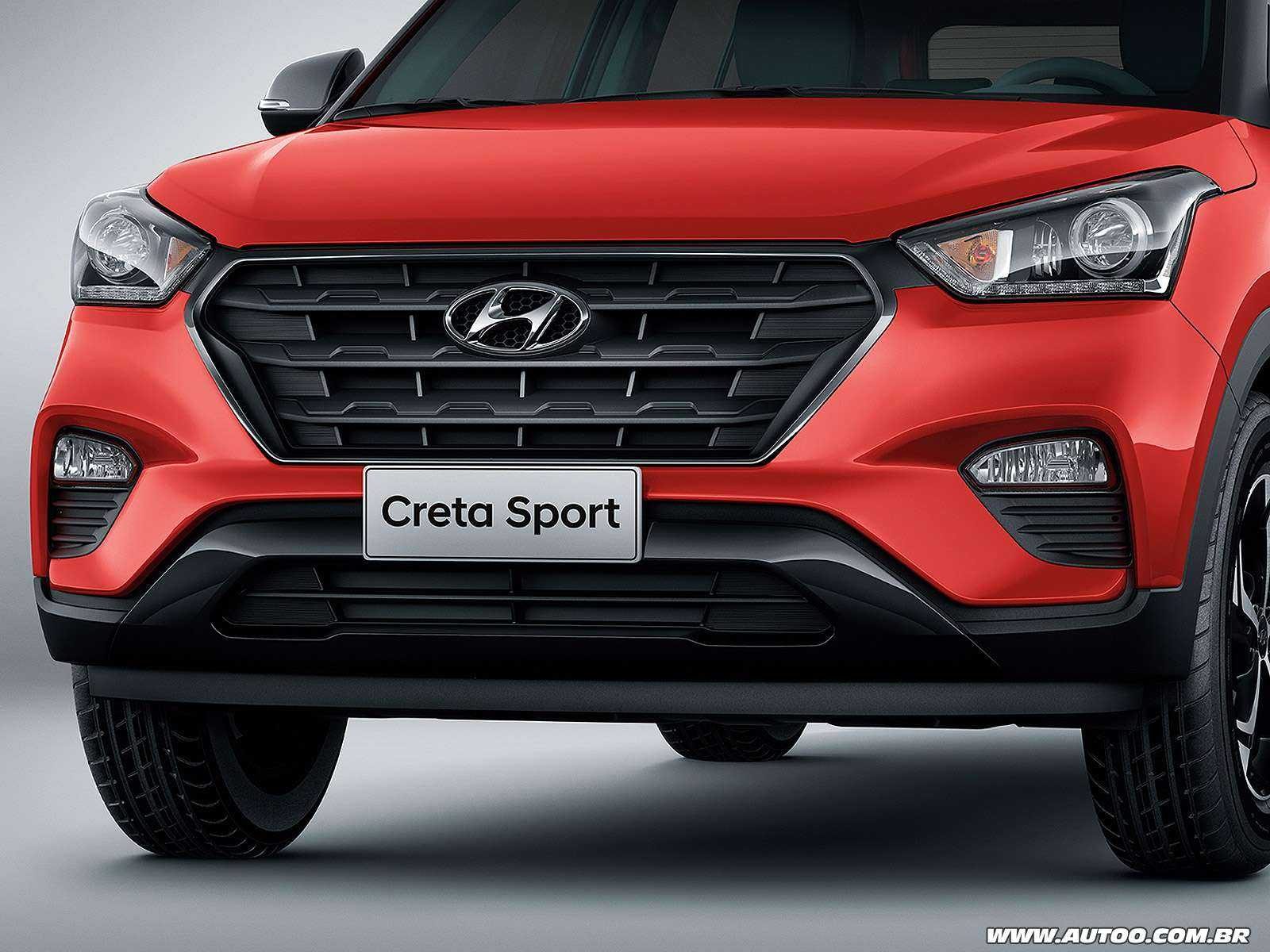 HyundaiCreta 2019 - grade frontal