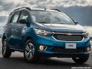 Chevrolet Spin 2019 flerta com o mundo dos SUVs