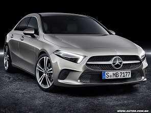 Confirmado: Mercedes-Benz Classe A Sedan chega ao Brasil em 2019